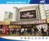 Openlucht Large LED Display in World Trade Center Zhejiang
