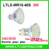 copo do diodo emissor de luz 3W (LTLS-MR16-48S)