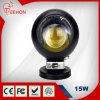 Truck /SUV/ATV를 위한 IP68 Waterproof 15W Round LED Work Light