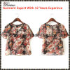 2015 New Arrive Ladies Round Neck Short Sleeve Floral Print T-Shirt Stock (SK647)