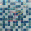 Azulejo de mosaico de cristal de la piscina del arco iris (CSJ155)