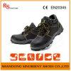 Sapatas de segurança básicas resistentes da punctura com dedo do pé de aço RS124