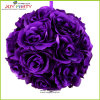 Migliore Selling Big Purple Flower Ball per Wedding Decoration