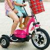 年長者のための延ばされていたシートが付いている3つの車輪の移動性のスクーター