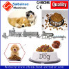 Chaîne de production d'extrudeuse d'aliments pour chats de crabot d'animal familier machine d'extrusion