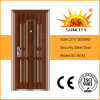 Safety Iron Main Door Designs Appartement Porte d'extérieur (SC-S043)