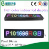Flashing Indoor P10 Multicolor Mini LED Screen (P101696RGB)