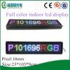 번쩍이는 실내 P10 다색 소형 LED 스크린 (P101696RGB)
