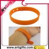 Wristband personalizzato del silicone di marchio di disegno