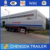 3 차축 42000L 원유 디젤 엔진 석유 유조선 탱크 트레일러