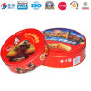 Chocolate를 위한 재상할 수 있는 Feature Customized Factory Tin Cantin Caseball Shape Packaging Tin Box