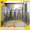 (Manufactory) de Apparatuur van het Bier, Koper/het Huis van het Roestvrij staal brouwt Gister