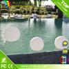 El material IP68 del PE impermeabiliza la bola iluminada del LED