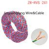 fil flexible ignifuge du faisceau 300/500V de cuivre isolé par PVC