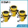 Válvulas de alivio de doble efecto Cilindro de émbolo hueco hidráulico compacto