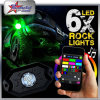 Luz universal del chasis del CREE 9W IP68 LED del color del RGB del control de Bluetooth Smartphone APP bajo luz del carro del coche LED para el jeep del barco del carro