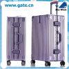 Silberne ABS Bw1-179 und PC Laufkatze-Gepäck, faltbare Handgepäck-Laufkatzen