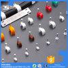 Clips del PE de las muestras libres para el clip de cable plástico blanco del clavo del negro de los cables