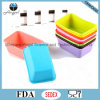 Прессформа силикона нового продукта прямоугольная для торта Sc52 булочки