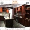 N及びLアメリカのポプラの純木の現代食器棚