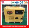 generatore diesel 6kw con il tipo aperto inizio di approvazione di Soncap del Ce di ritrazione