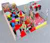 Beifall-Unterhaltungs-Süßigkeit-Thema-Innenspielplatz