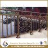 アルミニウム金属のバルコニーの柵、バルコニーの監視柵、電流を通されたバルコニーの柵