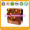 Квадратный контейнер олова шоколада для еды может упаковывающ