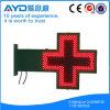 Индикация фармации шкафа СИД утюга красного цвета Shining оживленный перекрестная