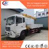 Kraan 5tons van de Vrachtwagen van Dongfeng 4X2 de Opgezette Chassis