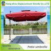 Aluminio grande paraguas al aire libre voladizo cuadrado de Roating de 360 grados