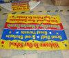 Impresión de encargo al aire libre que hace publicidad de la bandera del PVC del vinilo (SS-VB72)