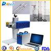 Máquina del plástico de la marca del laser del CNC de la etiqueta de plástico del laser del CO2/de cristal