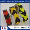 Anhaftende PVC-Pfeil-Förderwagen-reflektierende Sicherheits-warnendes Augenfälligkeit-Band/Aufkleber