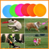Großhandelssilikon-Gummi-weiches Abendessen-Umweltflugwesen-Platten-Haustier-Hundespielzeug