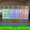 Cabina versatile riutilizzabile portatile di mostra di nuovo disegno con gli indicatori luminosi del LED