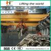 브리지 Travelling 17t Hydraulic Grab Garbage Crane
