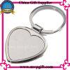 Metallo Keychain con figura del cuore