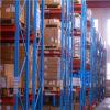 Estante de acero de la plataforma de la profundidad del almacén del almacenaje doble de la estructura