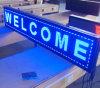 Placa de mensagem azul ao ar livre do diodo emissor de luz do MERGULHO P10