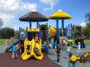 Kaiqiの多くのカラー(KQ60067A)で使用できる中型の高品質の子供の運動場装置-