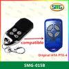 ガレージのドアリモート・コントロールATA Ptx-4青いSecuracode本物Ptx4