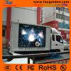 Visualizzazione di LED esterna del camion P6 per fare pubblicità