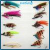 Mouches colorées et attrayantes pour la pêche de mouche