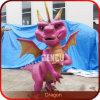 Os desenhos animados brincam o dragão modelo das estátuas