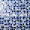 Melt смешивания 15X15mm плитка мозаики голубого горячего стеклянная (BGC001)