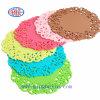 Farbe Silicone Coaster mit ISOSGS