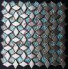 Mosaico especial de la hoja de oro del diamante
