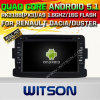 칩셋 1080P 16g ROM WiFi 3G 인터넷 DVR 지원 (A5787)를 가진 Renault Dacia를 위한 Witson 인조 인간 5.1 차 DVD GPS