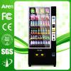 Bebida da bebida do carrinho vertical da exposição do LCD & máquina de Vending frias do petisco